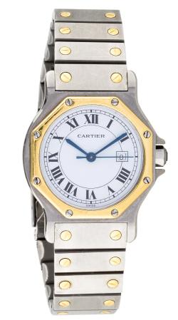 Cartier Santos Octagon