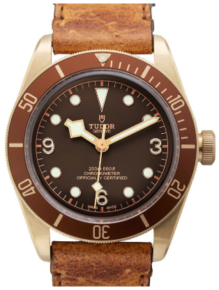brown dial watches