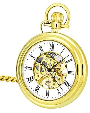 Stuhrling Vintage 6053 Pocket Watch