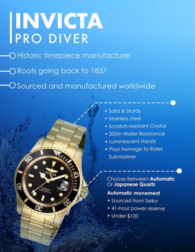 Invicta Watches, Invicta Pro Diver