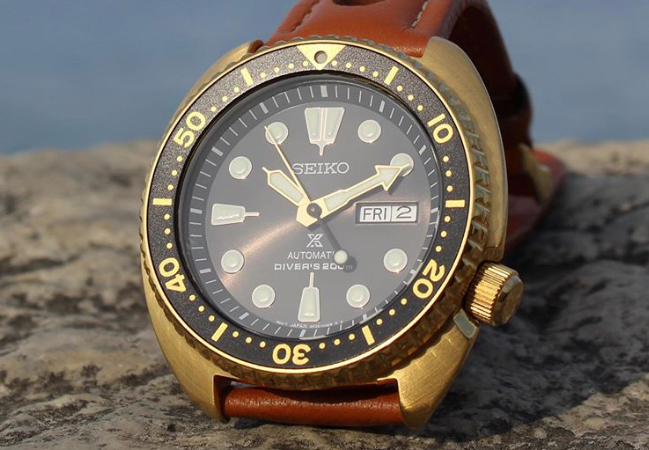 Seiko Turtle watch