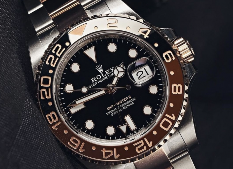 Rolex Root Beer watch