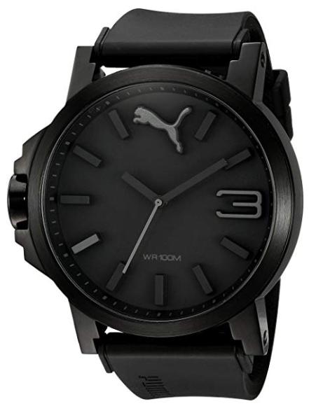 Puma Ultrasize Black Sport Men's Watch