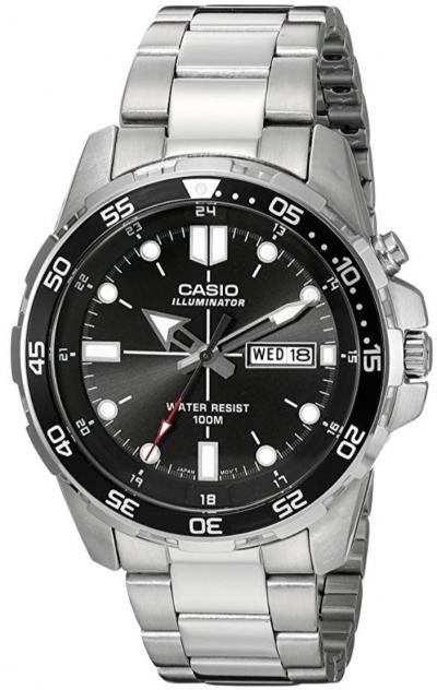 Casio Men's Super-Illuminator Diver Watch
