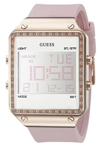 Guess Women's Digital Silicone Watch