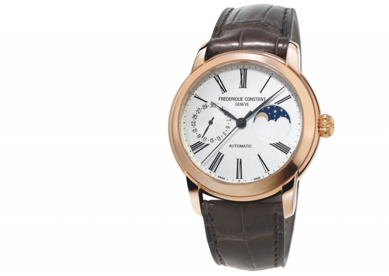 Frederique Constant Classic Moonphase rose gold
