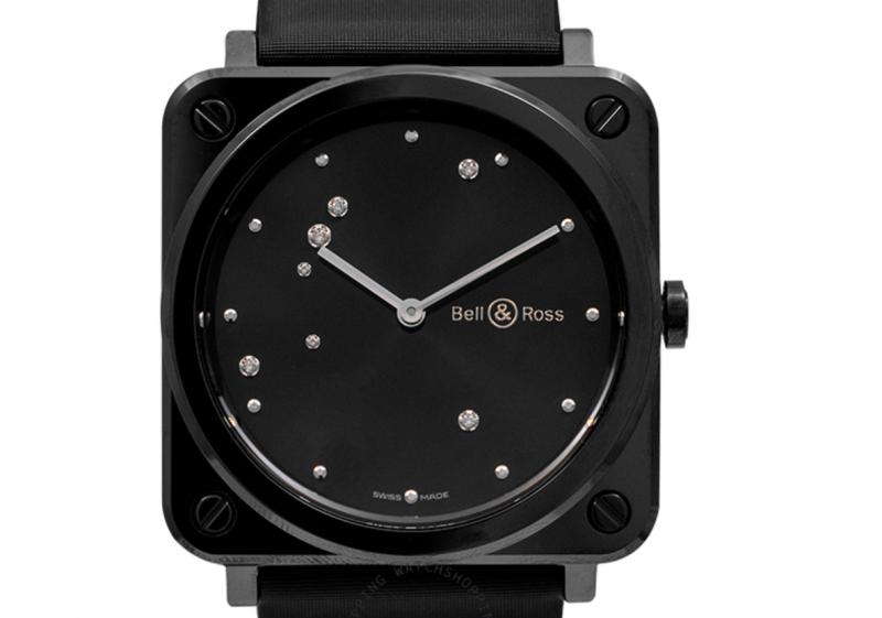 Bell & Ross Instruments BR S Black Diamond Eagle Men's Watch