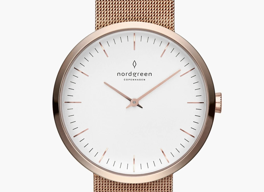 Nordgreen Infinity Rose Gold