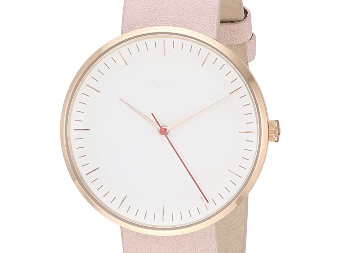 Fossil Essentialist Stainless Steel Casual Quartz Watch
