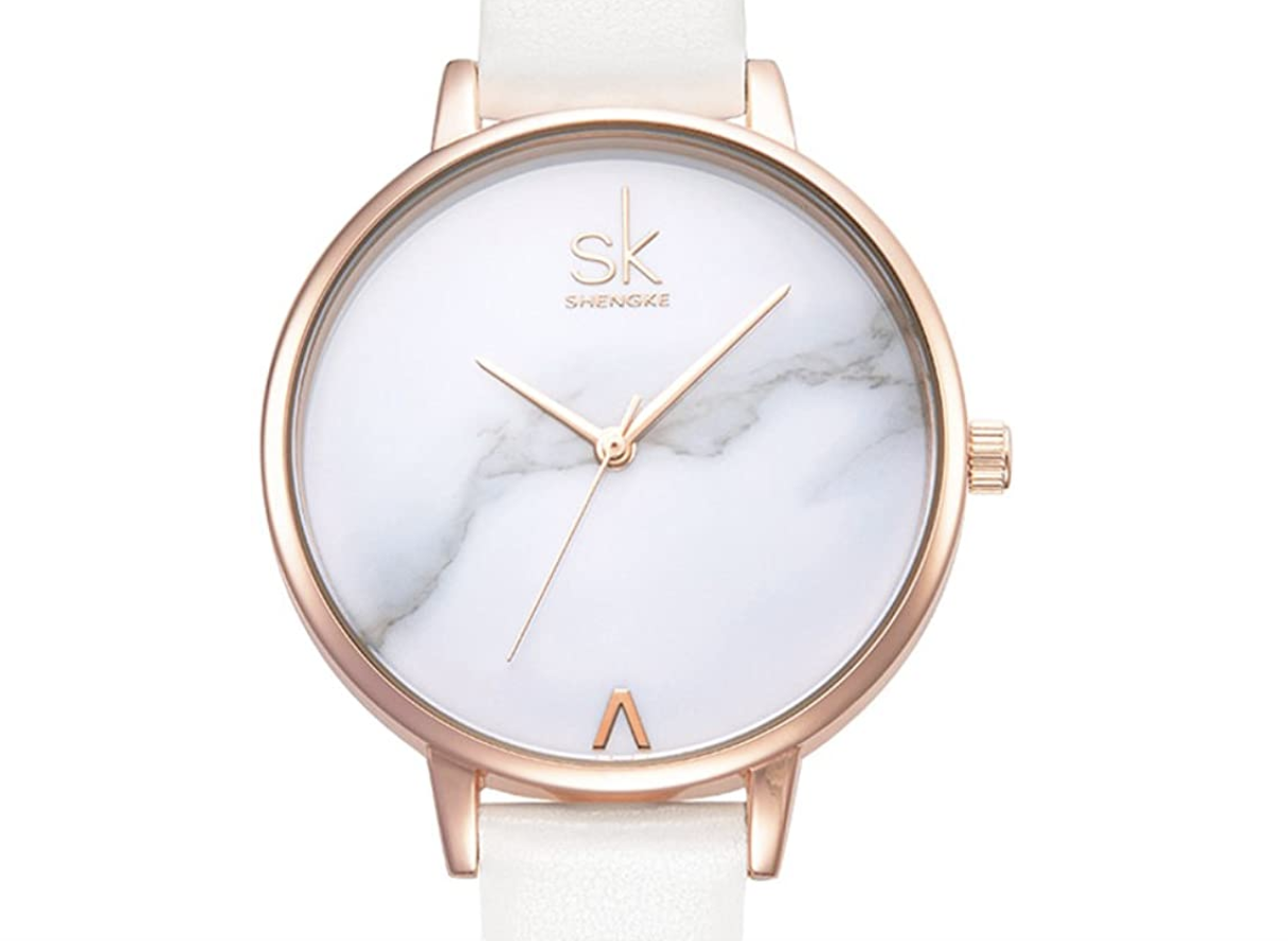 Fashion Marble Dial Watch