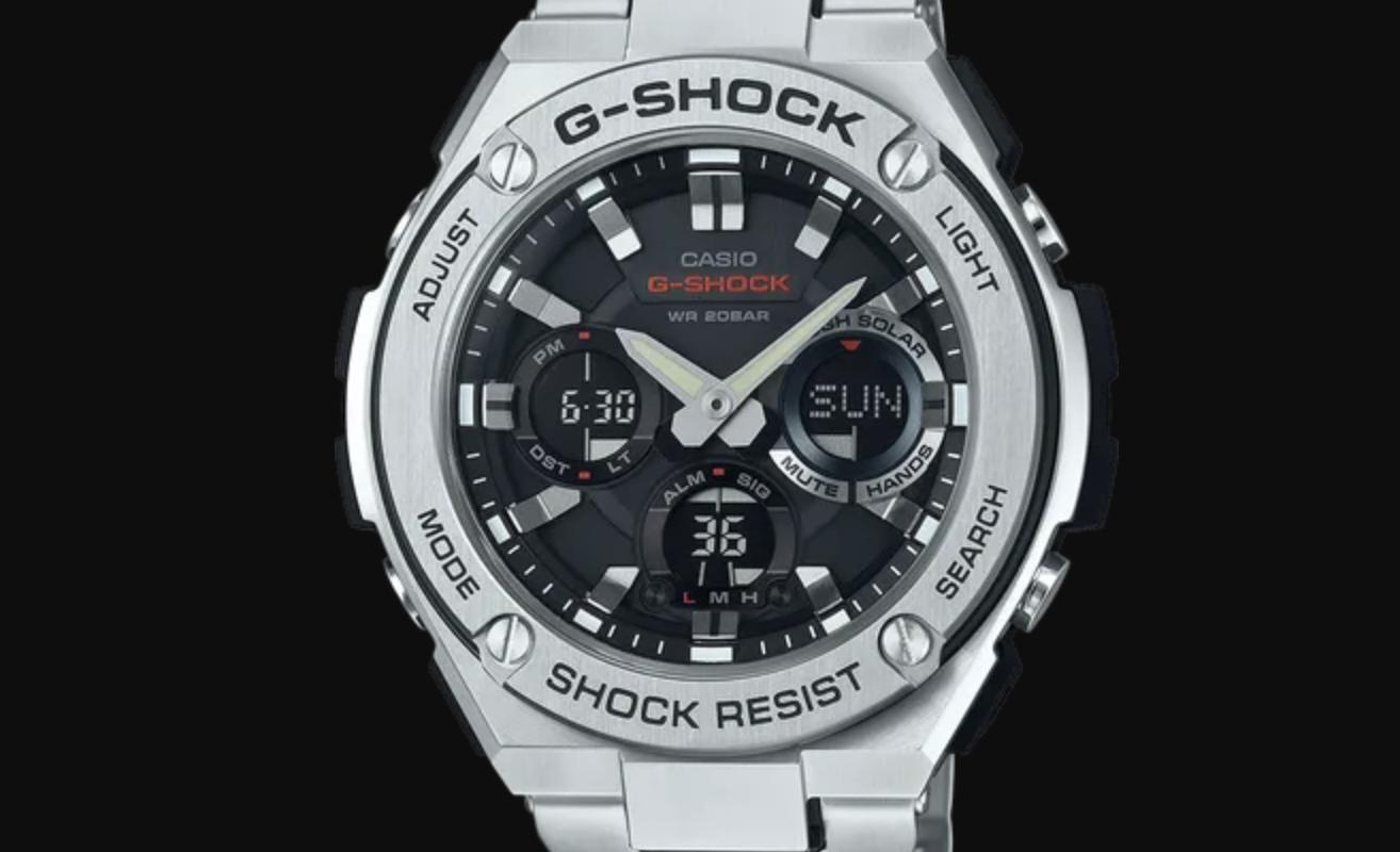 Casio G-Steel Watch