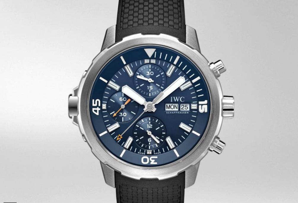 Jacques Cousteau IWC Aquatimer Chronograph
